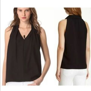 DVF Reagan Sleeveless Blouse Sz L